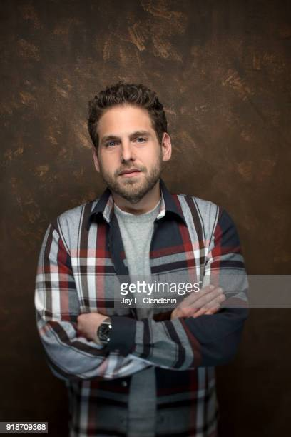 Actor Jonah Hill from the film 'Don't Worry He Won't Get Far on Foot' is photographed for Los Angeles Times on January 19 2018 in the LA Times Studio...