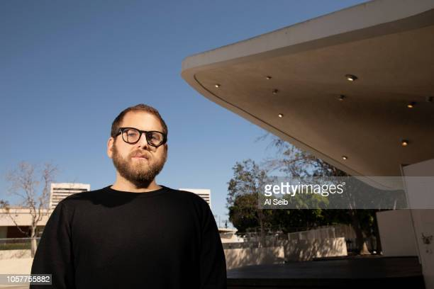 Actor Jonah Hill is photographed for Los Angeles Times on October 15 2018 in Los Angeles California PUBLISHED IMAGE CREDIT MUST READ Al Seib/Los...