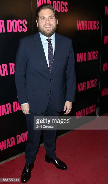 """Actor Jonah Hill sttending Special Screening of """"War Dogs"""" at Metrograph on August 3, 2016 in New York City."""