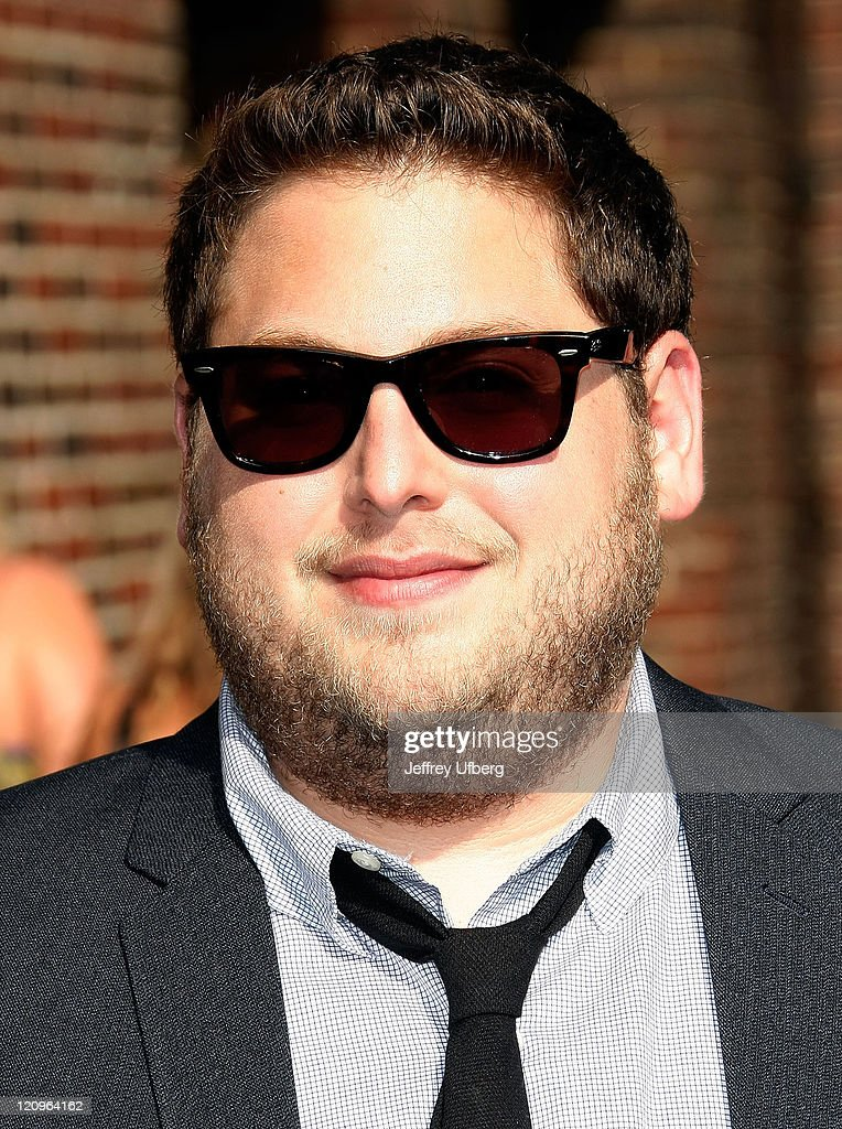 "Jonah Hill Visits ""Late Show With David Letterman"" - July 13, 2009"