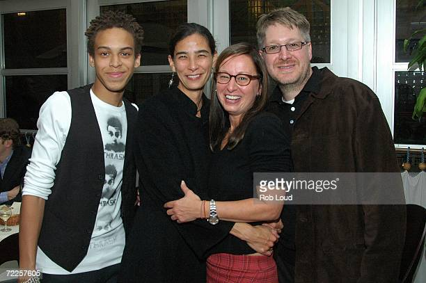 Actor Jonan Everett writer Hannah Weyer Maud Nadler of HBO and producer Paul Mezey attend the after party for the premiere of Angel Rodriguez at Remi...