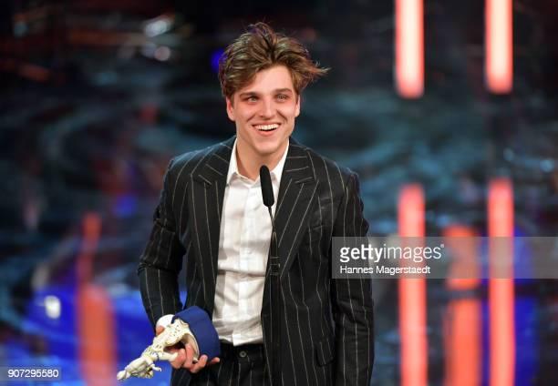 Actor Jonas Dassler during the Bayerischer Filmpreis 2017 at Prinzregententheater on January 19 2018 in Munich Germany