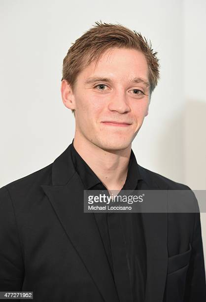Actor Jonas Nay attends the NY Premiere of SundanceTV's 'Deutschland 83' at the GoetheInstitut New York on June 15 2015 in New York City