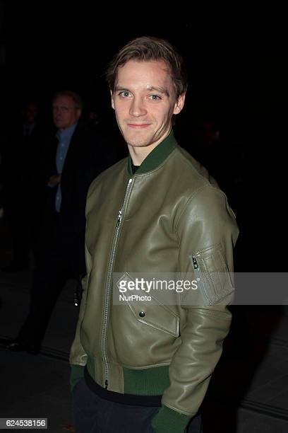 Actor Jonas Nay attends the opening of the exhibition 'LOEWE Past Present Future' at Botanic Garden on November 19 2016 in Madrid Spain