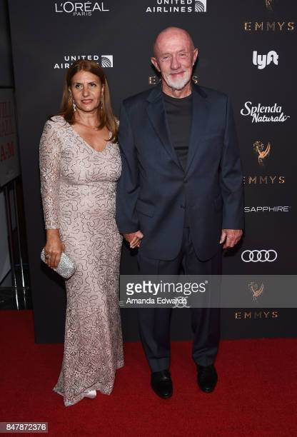 Actor Jonathan Banks and Gennera Banks arrive at the Television Academy's Performers Nominee Reception at the Wallis Annenberg Center for the...