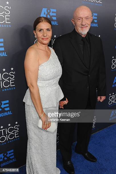 Actor Jonathan Banks and Gennera Banks attend the 5th Annual Critics' Choice Television Awards at The Beverly Hilton Hotel on May 31 2015 in Beverly...