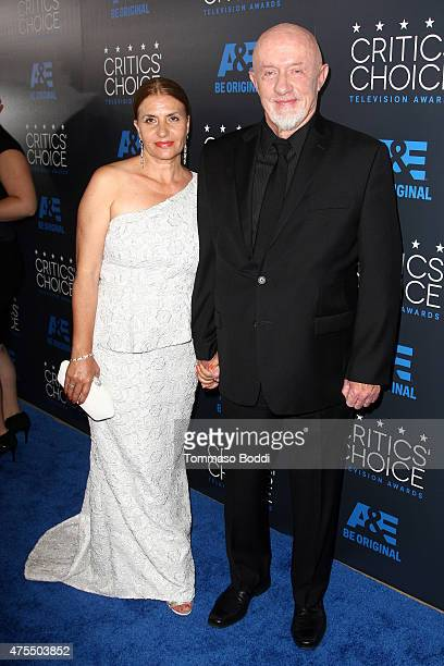 Actor Jonathan Banks and Gennera Banks attend the 5th annual Critics' Choice Television Awards at The Beverly Hilton Hotel on May 31, 2015 in Beverly...