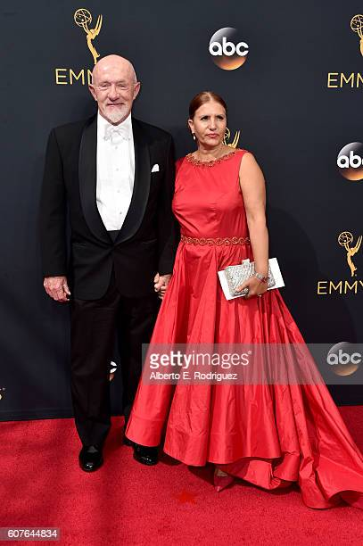 Actor Jonathan Banks and Gennera Banks attend the 68th Annual Primetime Emmy Awards at Microsoft Theater on September 18 2016 in Los Angeles...