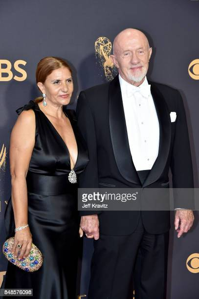 Actor Jonathan Banks and Gennera Banks attend the 69th Annual Primetime Emmy Awards at Microsoft Theater on September 17, 2017 in Los Angeles,...
