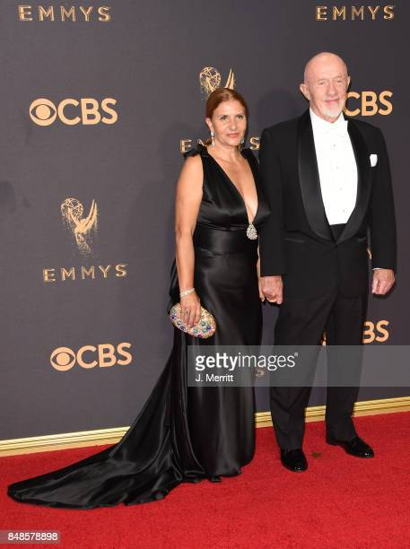Actor Jonathan Banks and Gennera Banks attend the 69th Annual Primetime Emmy Awards at Microsoft Theater on September 17 2017 in Los Angeles...