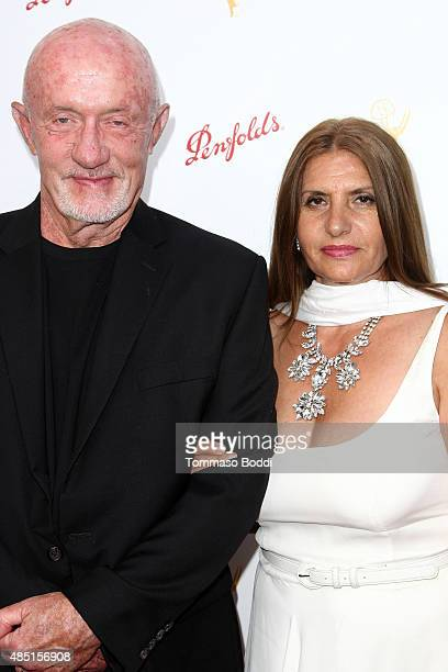 Actor Jonathan Banks and Gennera Banks attend the Television Academy's Performers Peer Group Hold Cocktail Reception To Celebrate 67th Emmy Awards...