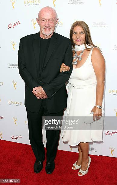 Actor Jonathan Banks and Gennera Banks attend the Television Academy's Performers Peer Group Hold Cocktail Reception to Celebrate the 67th Emmy...