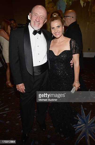 Actor Jonathan Banks and Gennera Banks attends Broadcast Television Journalists Association's third annual Critics' Choice Television Awards at The...