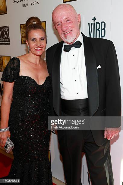 Actor Jonathan Banks and his wife Gennera Banks attend the Critics' Choice Television Awards at The Beverly Hilton Hotel on June 10 2013 in Beverly...