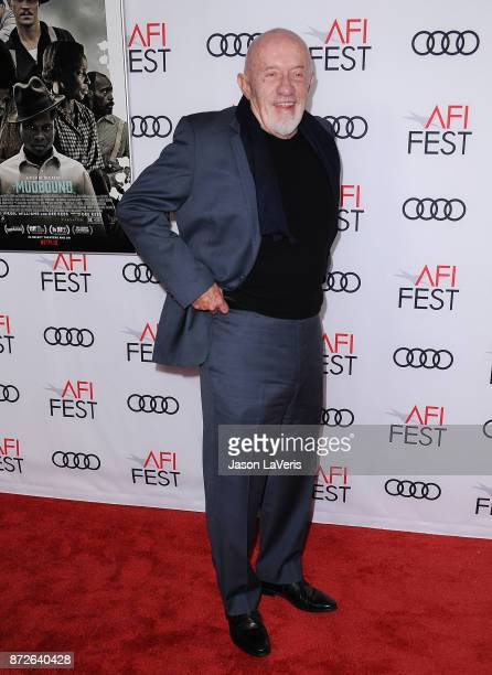 Actor Jonathan Banks attends the 2017 AFI Fest opening night gala screening of 'Mudbound' at TCL Chinese Theatre on November 9 2017 in Hollywood...
