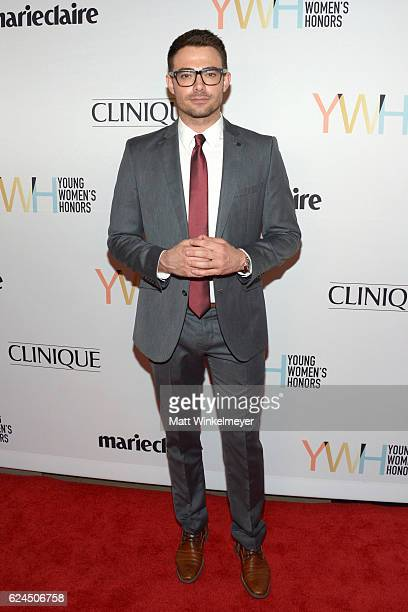 Actor Jonathan Bennett attends the 1st annual Marie Claire Young Women's Honors at Marina del Rey Marriott on November 19 2016 in Marina del Rey...