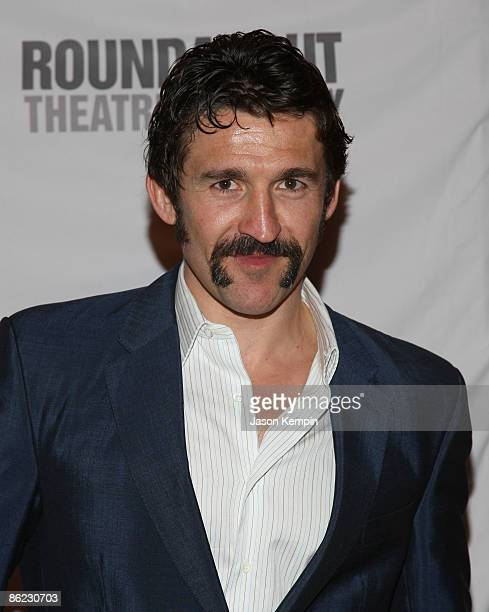 Actor Jonathan Cake attends 'The Philanthropist' Broadway opening night party at the Roundabout Theatre Company's American Airlines Theatre on April...