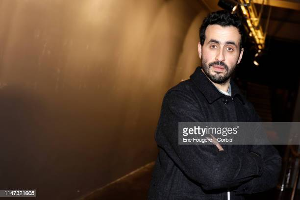 Actor Jonathan Cohen poses during a portrait session in Paris, France on .