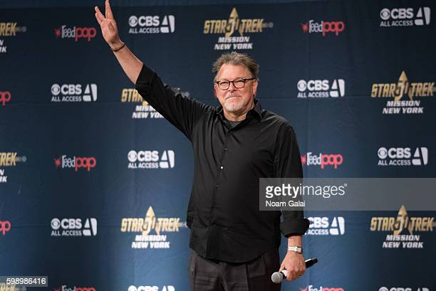 Actor Jonathan Frakes attends the Star Trek Mission New York at The Jacob K Javits Convention Center on September 3 2016 in New York City