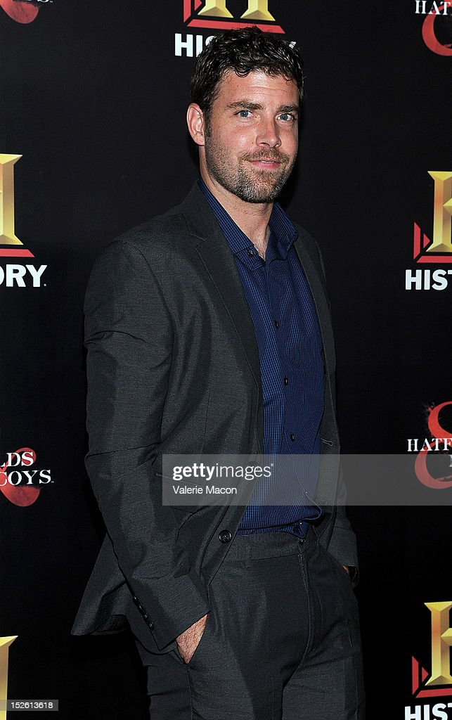 History Channel's Pre-Emmy Party - Arrivals : News Photo