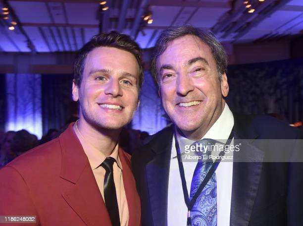 Actor Jonathan Groff and Producer Peter Del Vecho attends the world premiere of Disney's Frozen 2 at Hollywood's Dolby Theatre on Thursday November 7...