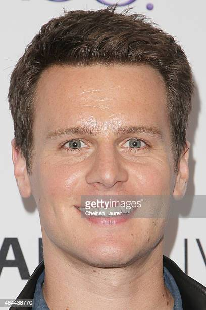 Actor Jonathan Groff attends an evening with HBO's Looking at The Paley Center for Media on February 25 2015 in Beverly Hills California