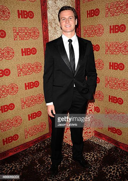 Actor Jonathan Groff attends HBO's Golden Globe Awards after party at Circa 55 Restaurant on January 12 2014 in Los Angeles California