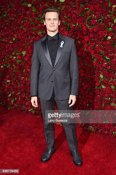 Actor Jonathan Groff attends the 70th Annual Tony Awards at The Beacon Theatre on June 12 2016 in New York City