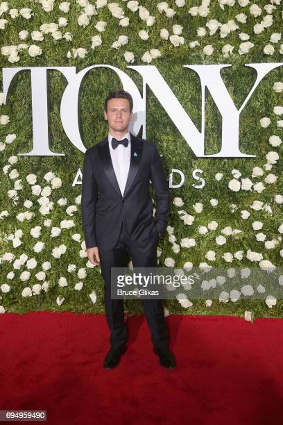 Actor Jonathan Groff attends the 71st Annual Tony Awards at Radio City Music Hall on June 11 2017 in New York City