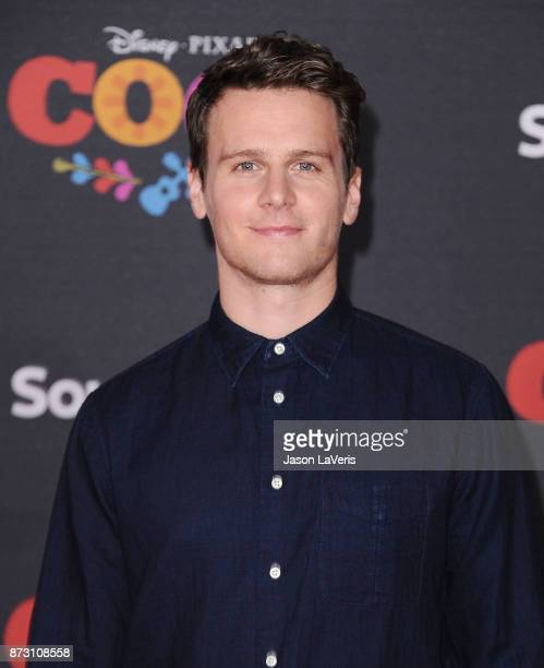 Actor Jonathan Groff attends the premiere of 'Coco' at El Capitan Theatre on November 8 2017 in Los Angeles California