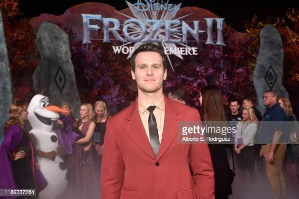 Actor Jonathan Groff attends the world premiere of Disney's Frozen 2 at Hollywood's Dolby Theatre on Thursday November 7 2019 in Hollywood California
