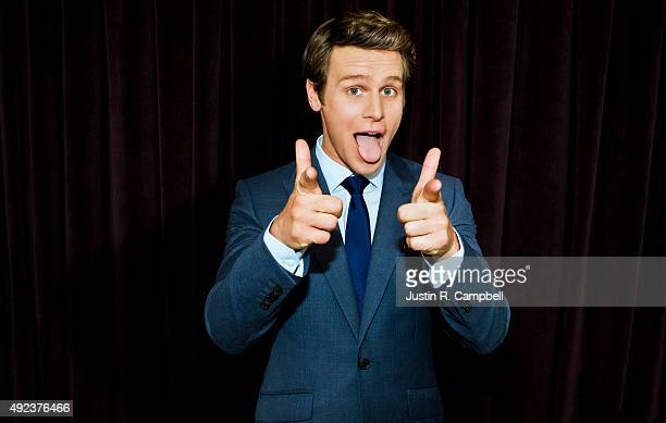 Actor Jonathan Groff is photographed for Just Jared on November 11 2013 in Los Angeles California