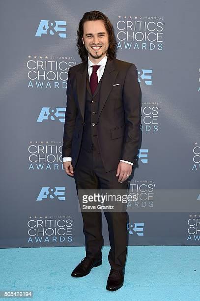 Actor Jonathan Jackson attends the 21st Annual Critics' Choice Awards at Barker Hangar on January 17 2016 in Santa Monica California