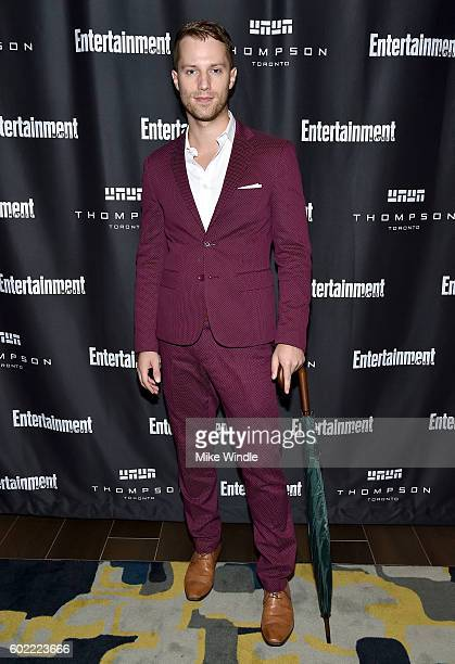 Actor Jonathan Keltz attends Entertainment Weekly's Toronto Must List party at the Thompson Hotel on September 10 2016 in Toronto Canada