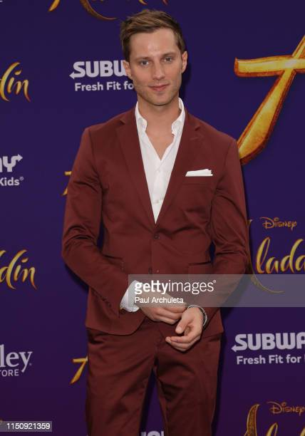 Actor Jonathan Keltz attends the premiere of Disney's Aladdin on May 21 2019 in Los Angeles California