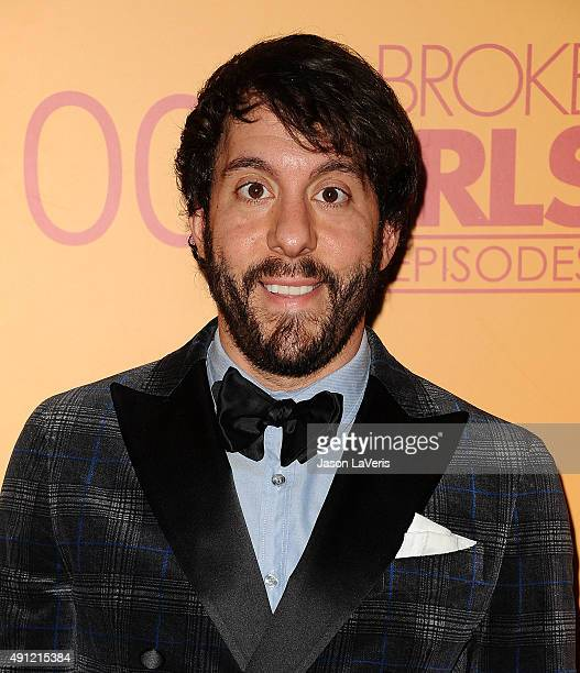Actor Jonathan Kite attends the 100th episode celebration of CBS' '2 Broke Girls' at Mrs Fish on October 3 2015 in Los Angeles California