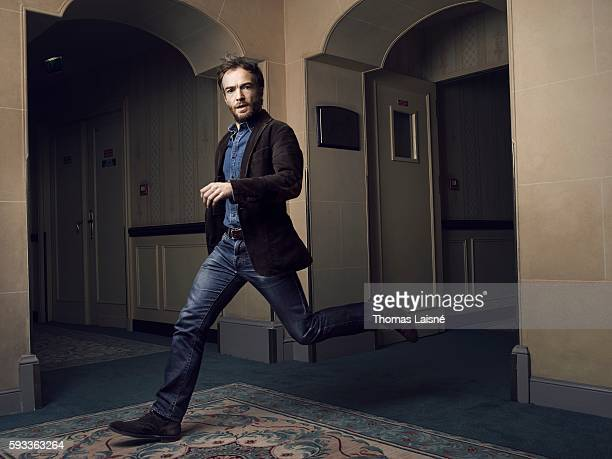Actor Jonathan Lambert is photographed for Self Assignment on January 19 2015 in Paris France