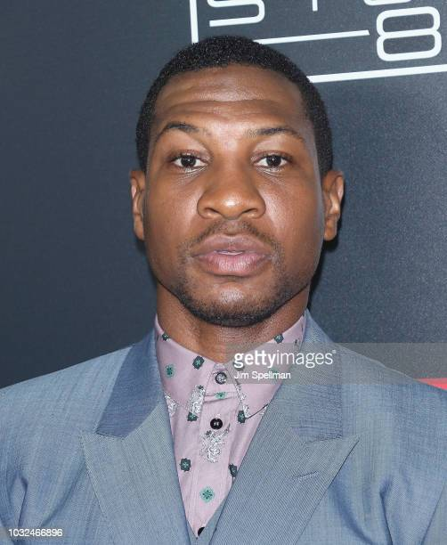 Actor Jonathan Majors attend the New York special screening of White Boy Rick hosted by Columbia Pictures and Studio 8 at the Paris Theater on...