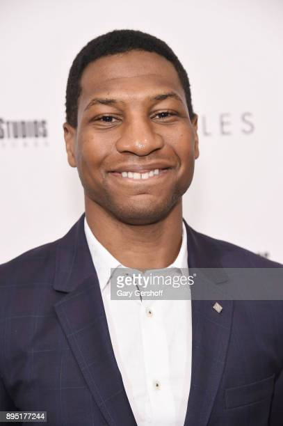 Actor Jonathan Majors attends Hostiles New York premiere at Metrograph on December 18 2017 in New York City