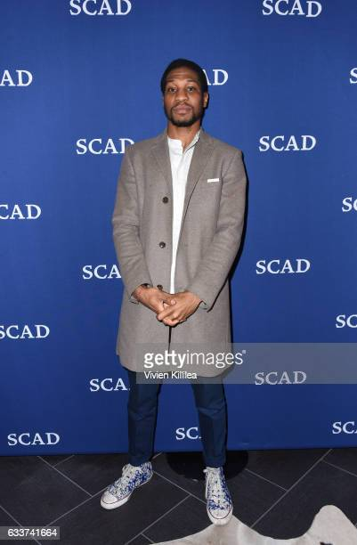 Actor Jonathan Majors attends QA for When We Rise on Day Two of aTVfest 2017 presented by SCAD at SCADshow Mainstage on February 3 2017 in Atlanta...