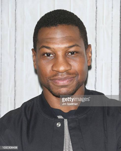 Actor Jonathan Majors attends the Build Series to discuss White Boy Rick at Build Studio on September 12 2018 in New York City