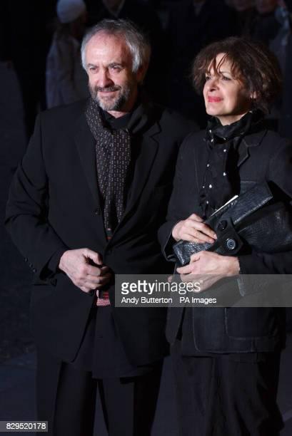 Actor Jonathan Pryce and Kate Fahy