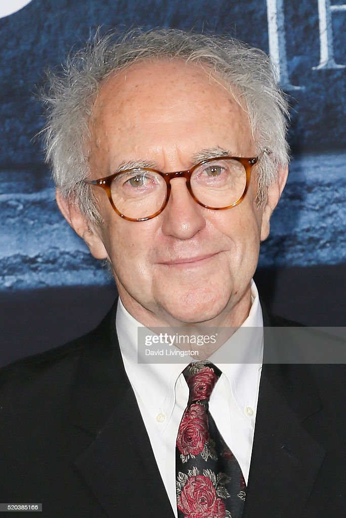 Actor Jonathan Pryce arrives at the premiere of HBO's 'Game of Thrones' Season 6 at the TCL Chinese Theatre on April 10, 2016 in Hollywood, California.