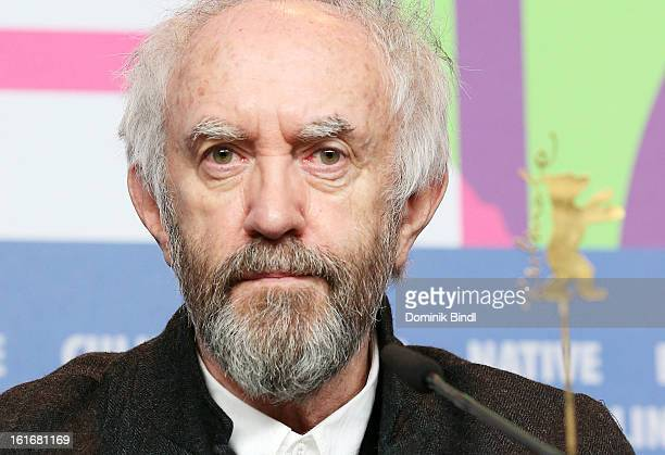 Actor Jonathan Pryce attends the 'Dark Blood' Press Conference during the 63rd Berlinale International Film Festival at the Grand Hyatt Hotel on...