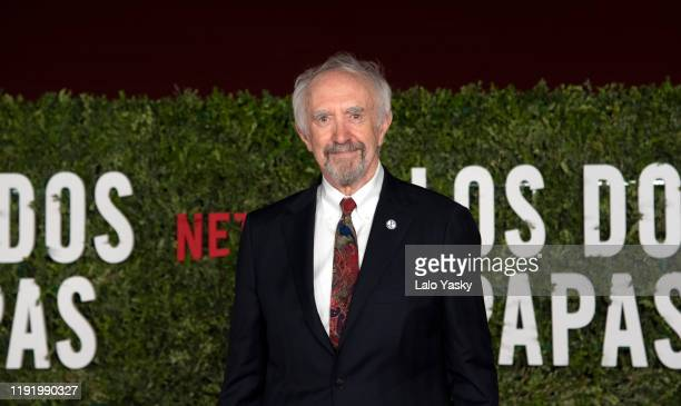 Actor Jonathan Pryce attends the premiere of 'The Two Popes' at Facultad de Derecho on December 04 2019 in Buenos Aires Argentina