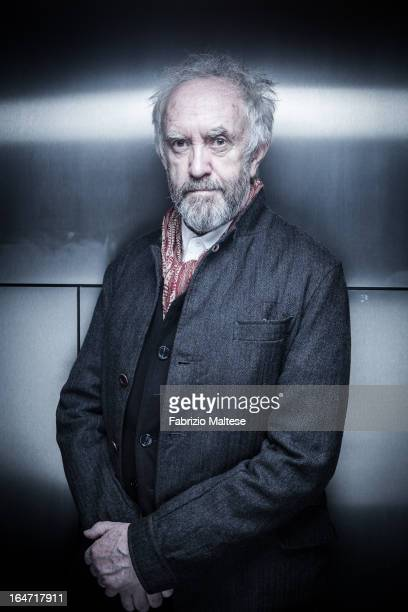 Actor Jonathan Pryce is photographed for Self Assignment on February 13 2013 in Berlin Germany