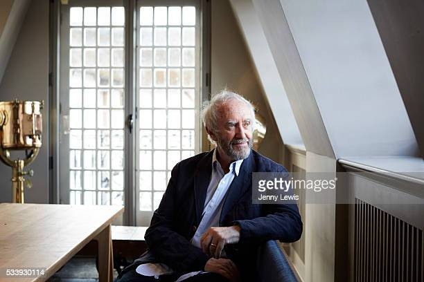 Actor Jonathan Pryce is photographed for the Telegraph on May 12 2015 in London England