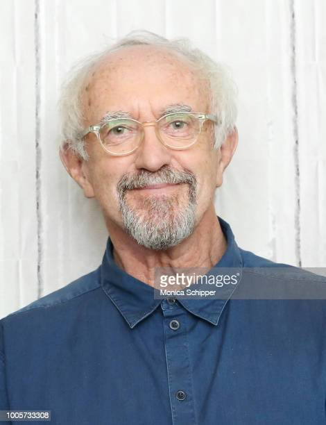 Actor Jonathan Pryce visits Build Studio to discuss the film The Wife on July 26 2018 in New York City
