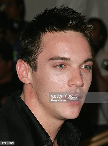 Actor Jonathan Rhys Meyers attends the Metropolitan Museum of Art Costume Institute Benefit Gala Anglomania at the Metropolitan Museum of Art May 1...