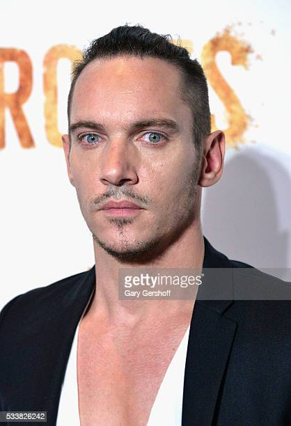 Actor Jonathan Rhys Meyers attends the Roots night one screening at Alice Tully Hall Lincoln Center on May 23 2016 in New York City